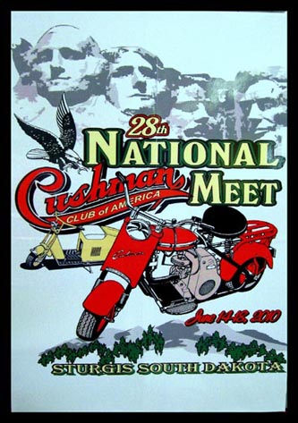 Poster for 2010 CCA rally in Sturgis