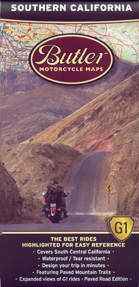 Butler Motorcycle Maps - California