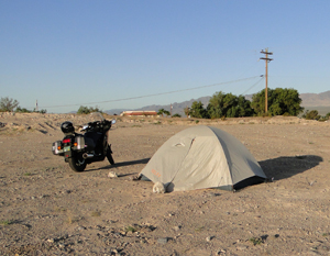 dry camping site one