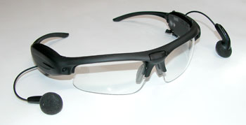 video glasses