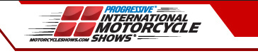 Progressive International Motorcycle Shows logo