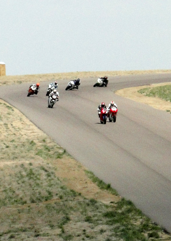 Racers at High Plains Raceway