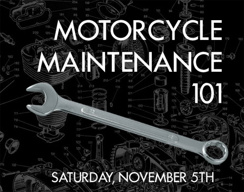 Motorcycle Maintenance 101