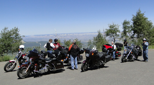 OFMC on the side of Grand Mesa