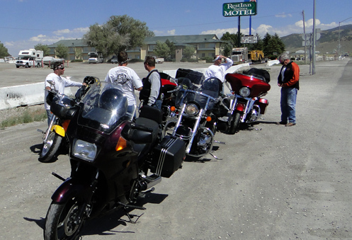 The OFMC at a stop