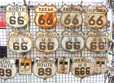 Route 66 signs for sale