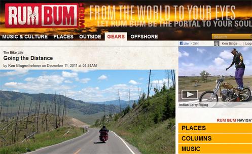 Rum Bum site