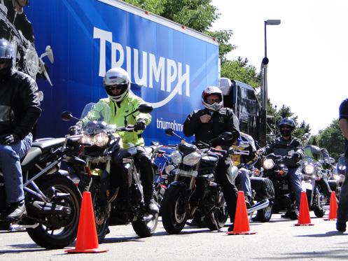 Triumph demo rides