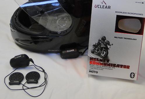 UCLEAR HBC 100 Moto helmet communicator