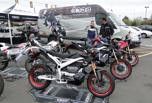 Zero Motorcycles at Fay Myers
