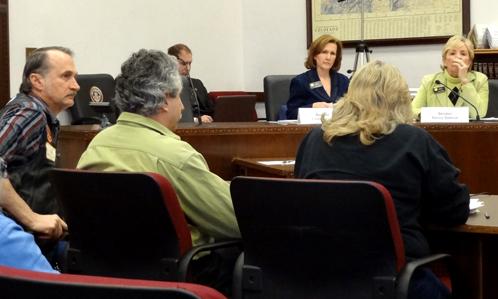 ABATE representatives testify at Tuesday's hearing.