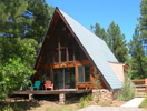A-frame for rent outside Pagosa Springs