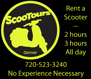 ScooTours Denver home page