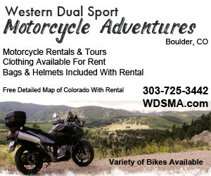 Western Dual Sport Motorcycle Adventures home page