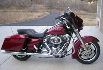 Dennis' new Harley