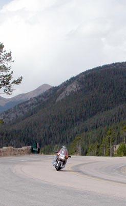 Cruising along Trail Ridge Road