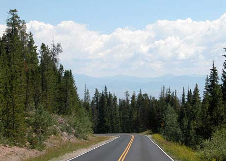 Motorcycle Colorado Passes And Canyons Gore Pass