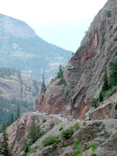 Motorcycle Colorado Passes And Canyons Red Mountain Pass