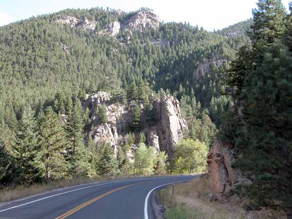 Motorcycle Colorado Passes And Canyons The Peak To