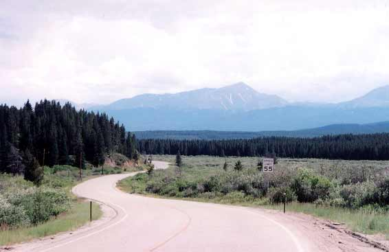 Motorcycle Colorado Passes And Canyons Tennessee Pass