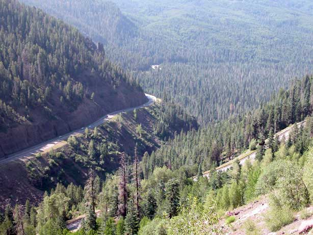 Motorcycle Colorado Passes And Canyons Wolf Creek Pass