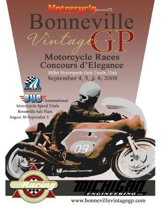 Bonneville Vintage GP and Concours
