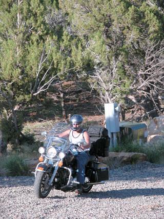 Jason on his Harley