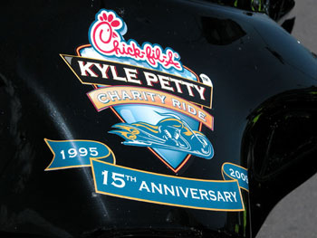 Kyle Petty Charity Ride emblem